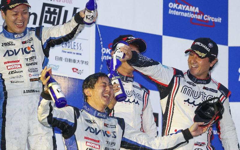 トレーシースポーツ シリーズチャンピオン獲得